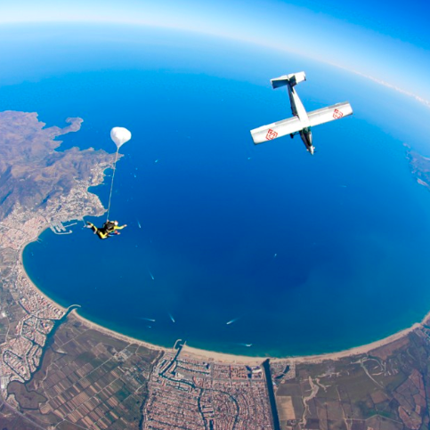 Parachutisme à Empuriabrava